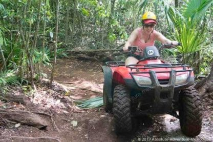 Srive your atv in the mexican jungle