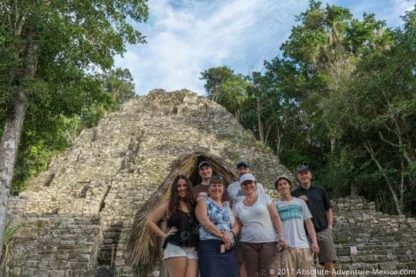 Familie tour in Coba
