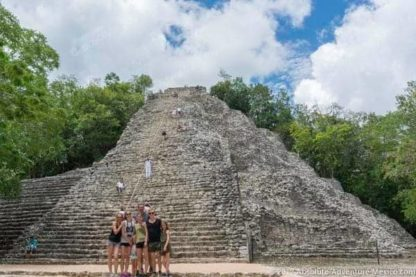 private tour of coba to avoid crowds