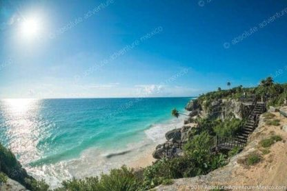 beach of tulum ruins