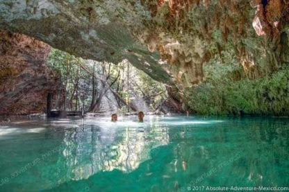 Snorkeling tour in cenote