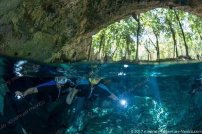 excursion privée cenote dos ojos