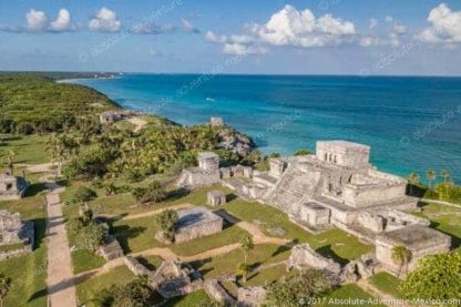 best view of tulum ruins