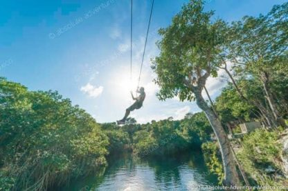 zip line over a cenote