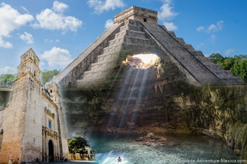 chichen itza private tour swim in cenote and valladolid
