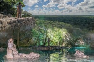 coba and cenote private tour