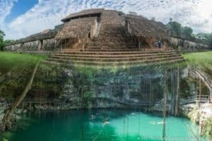 tour to ek balam and cenote