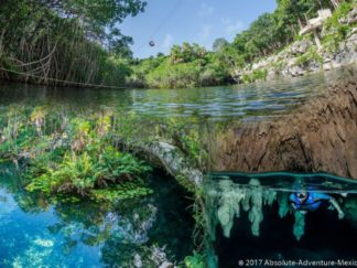 excursion en cenotes