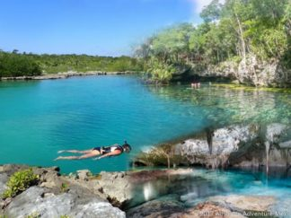 tour to yalku and cenote