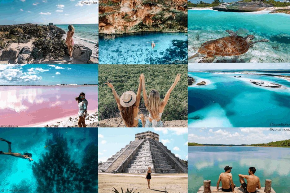 The Most Instagrammable Places in Riviera Maya