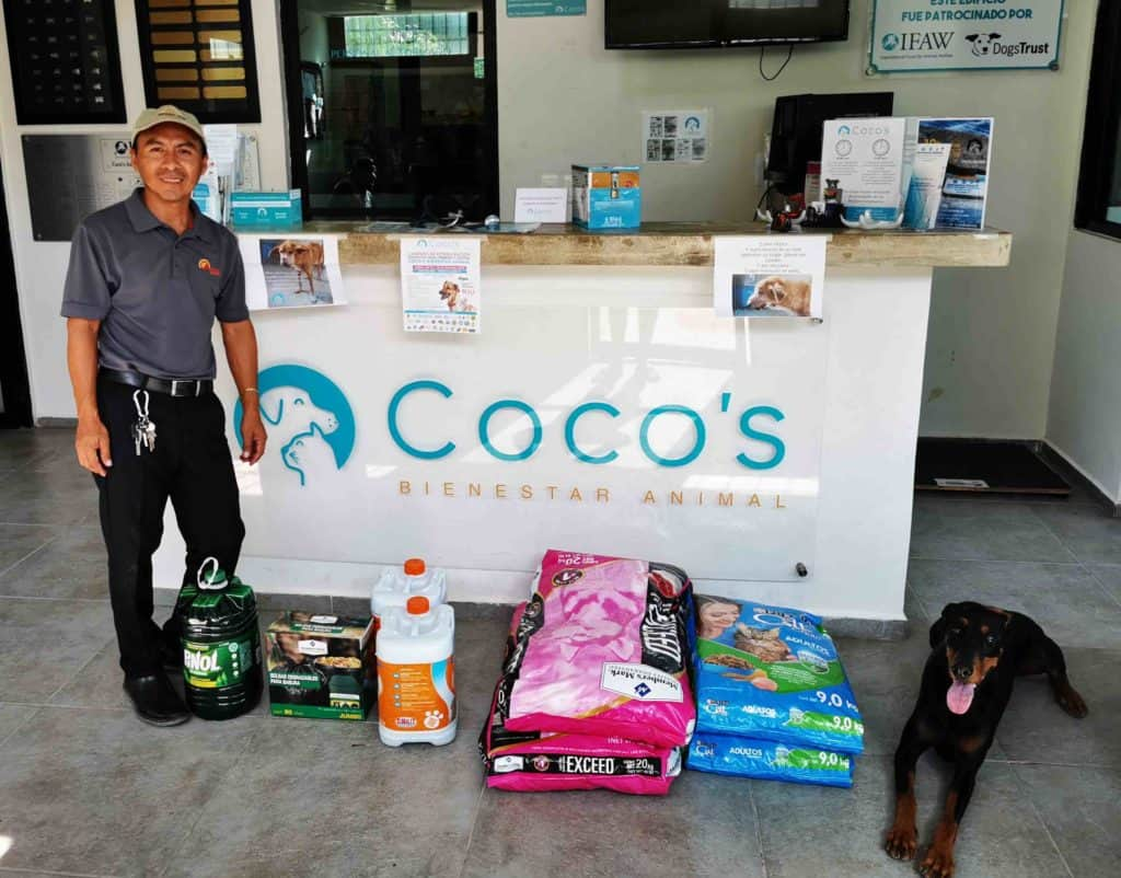 July-August 2019 Donation with Pascual